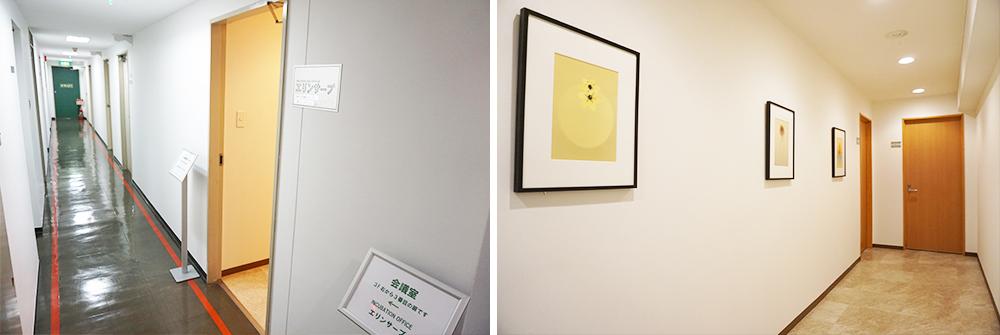 レンタルオフィス神戸正会員Fタイプ個室入口