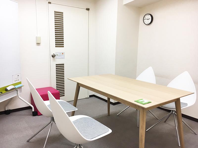 レンタルオフィス神戸エリンサーブ応接室