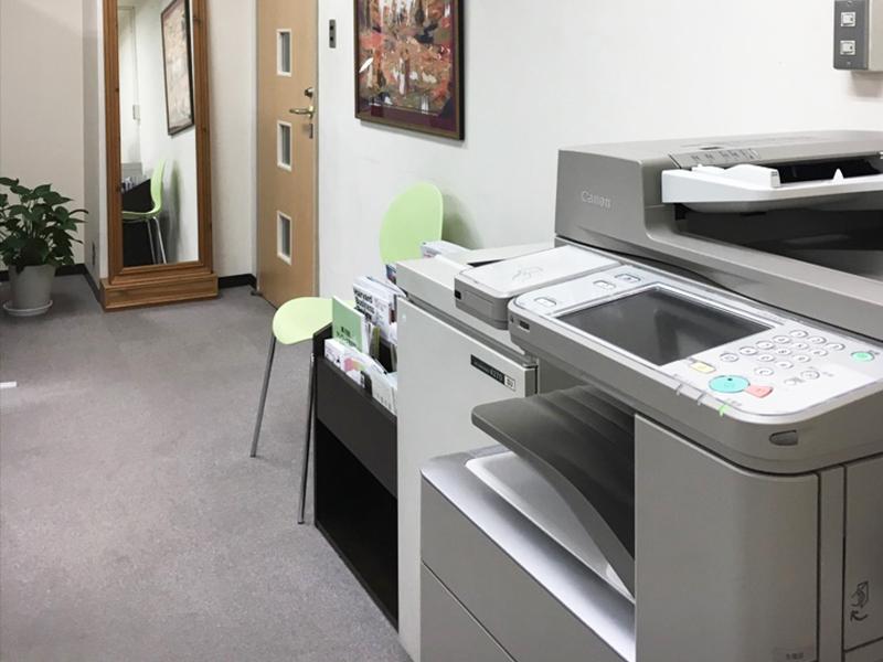 レンタルオフィス神戸エリンサーブ共有機器