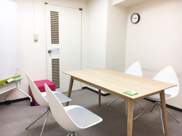レンタルオフィス エリンサーブ神戸 新応接室