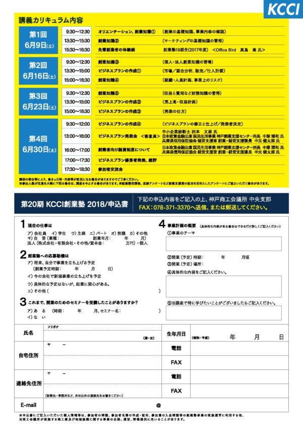 KCCI創業塾2018 2